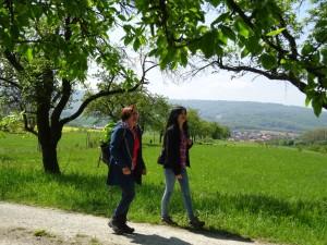Frühlingswandern im Naturpark Münden (c) S. Susat