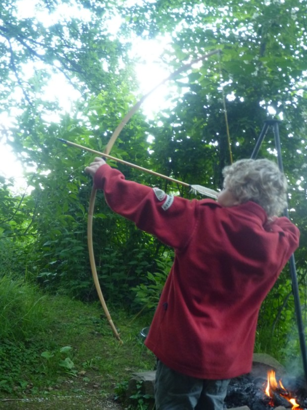 15 Bogenschießen im Naturpark Münden c Sibylle Susat 620x827 4. Juli   Bogenschießen Schnuppernachmittag bei den Shadow Hunters
