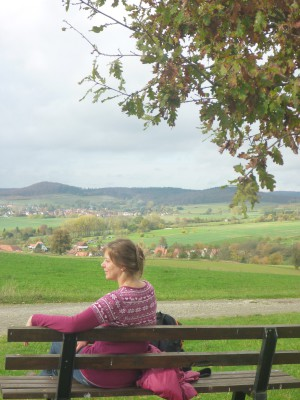 Wandern im Naturpark Münden (c) Sibylle Susat