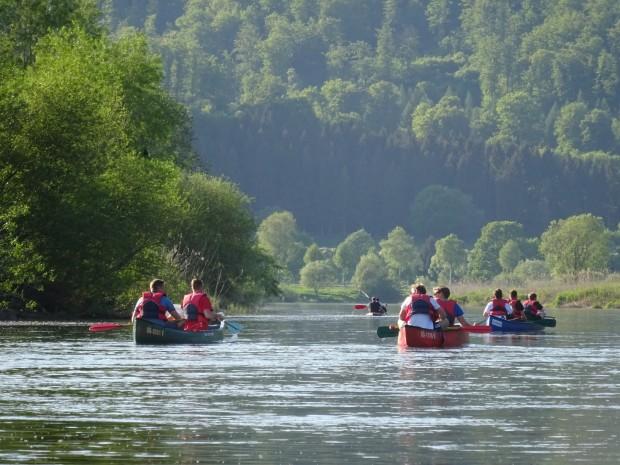 19 Kanutour im Naturpark Münden c Sibylle Susat 620x465 25. Juli   Unterwegs auf dem Wasser im Naturpark Münden
