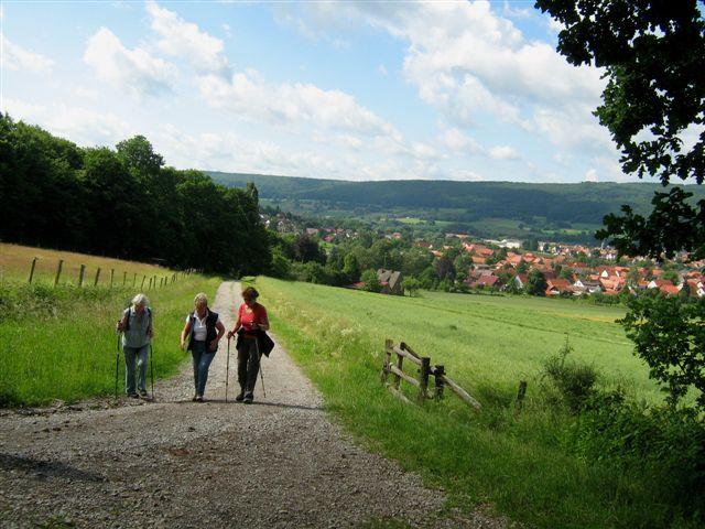 21 Panoramweg c Sonntag, 12. Juli 2015: Wandern auf Panoramawegen, Nienhagen