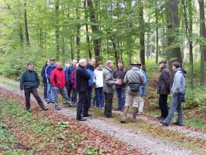 Exkursion mit Dr. Freist (c) Georg Hoffmann