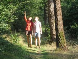 Wanderer im Naturpark Münden (c) Sibylle Susat