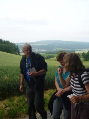 4 Wanderer bei Adelebsen (c) Sibylle Susat