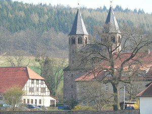 Benediktinerkloster in Bursfelde an der weser