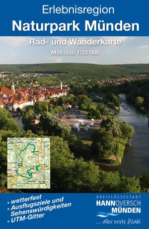 Wanderkarte Naturpark Münden (c) kkv-Verlag