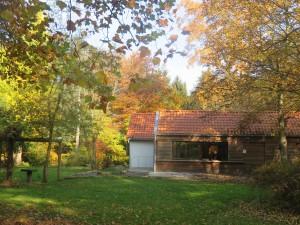 Geschäftsstelle im Forstbot. Garten(c) Sibylle Susat
