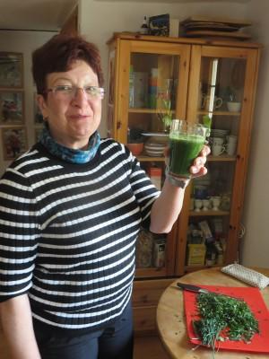 Grüner Smoothie (c) Sibylle Susat