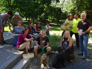 Pilzcoachausbildung im Naturpark Münden (c) Sibylle Susat