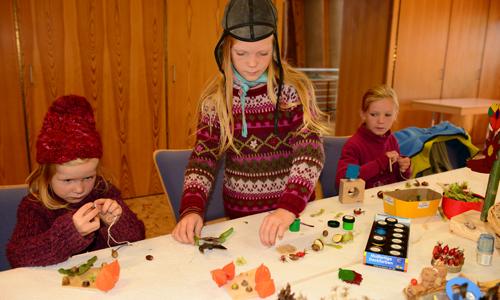 Basteln Text Herbstfest rund um den Karower Meiler