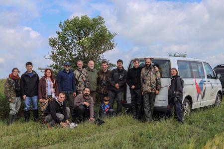 Beringerteam 2016 2015 Internationaler Kranich Beringungsworkshop