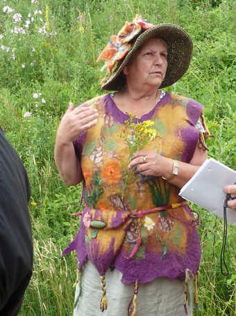 EdelgardGruhne Vortrag Wildpflanzen   Die Naturapotheke