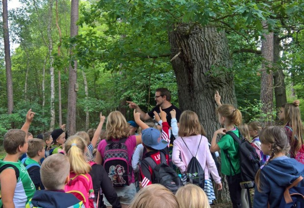 Exkursion klein 620x425 Raus in die Natur! Umweltbildung im Naturpark