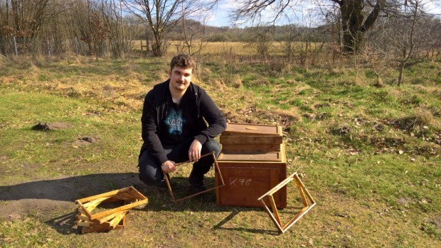 Felix 620x349 FÖJler widmet sich der Bienenzucht