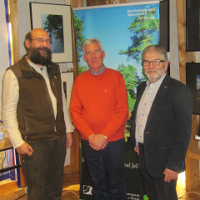 Foto W. Henies, von links Koch Mewes Gastb