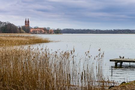Kloster Dobbertin 3448 Wandern mit dem Minister auf dem Naturparkweg MV