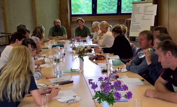 Lehrertreff 620x375 Regionale Schule Krakow am See ist jetzt Naturpark Schule
