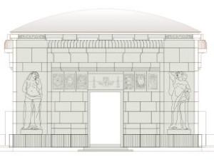 Mausoleum_Vorderseite