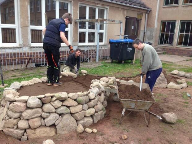 Mestlin2 620x465 Ökologische Umgestaltung des Schulhofes in Mestlin