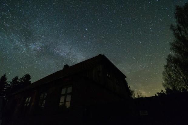 Naturschutzstation Milchstrasse 620x414 Sterne Gucken am dunkelsten Ort Mecklenburg Vorpommerns