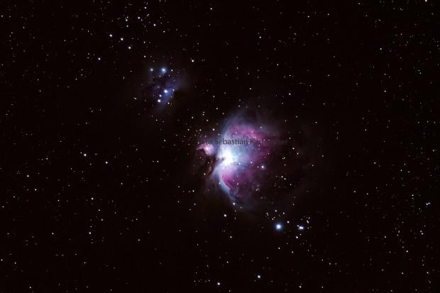 Orion Nebula Foto Sebastian Kartheuser 620x413 Detail Informationen zum Workshop Astrofotografie