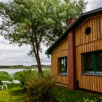 """Die Naturschutzstation """"Auf dem Ortkrug"""" befindet sich unmittelbar am Ufer des Drewitzer Sees."""