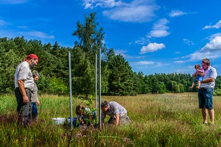 Ortkrug Eiche klein 5047 Naturschutzstation Auf dem Ortkrug eröffnet