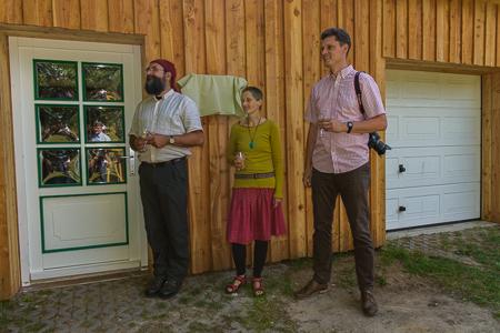 Ortkrug Vorstand klein 5014 Naturschutzstation Auf dem Ortkrug eröffnet