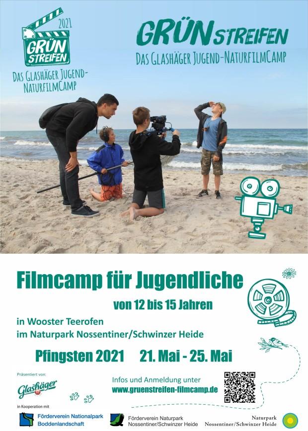 Pfingstcamp 620x868 Filmcamp für Jugendliche zu Pfingsten im Naturpark Nossentiner/Schwinzer Heide