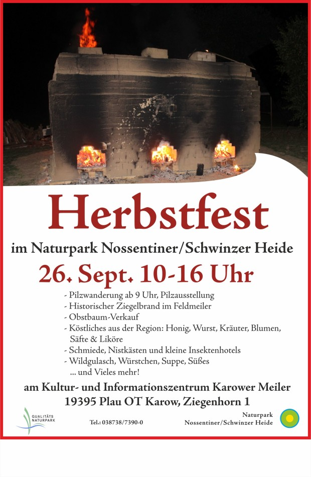 Plakat Herbstfest2020 1 620x951 Herbstfest im Naturpark mit Ziegel Feldbrand