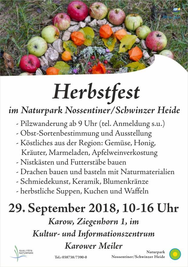 Plakat Herbstfest 20181 620x877 Herbstfest am 29.9.2018