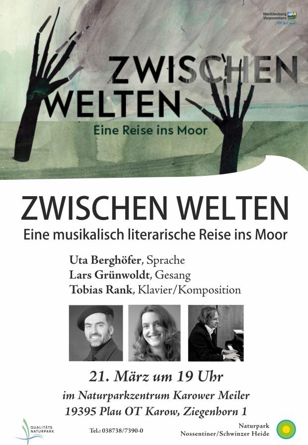 Plakat Moortheater 620x896 Jetzt im Naturpark: Zwischenwelten   Eine musikalisch literarische Reise ins Moor