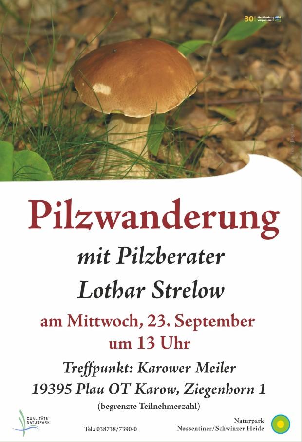 Plakat Pilzexkursion s 620x909 Pilzwanderung am 23.9.