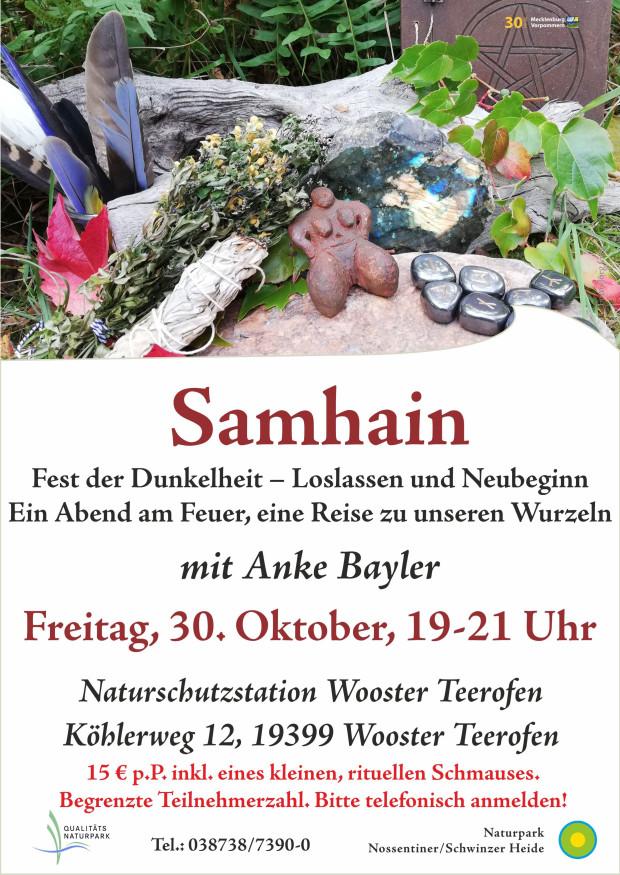 Plakat Samhain3 620x875 Samhain – Fest der Dunkelheit – Loslassen und Neubeginn
