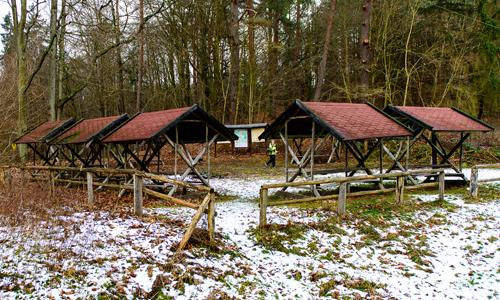 Rastplatz Alte Mühle Wandern mit dem Minister auf dem Naturparkweg MV
