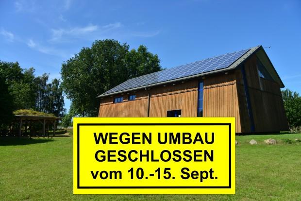 Umbau 620x414 Naturparkzentrum schließt wegen Umbau 10. 15. Sept.