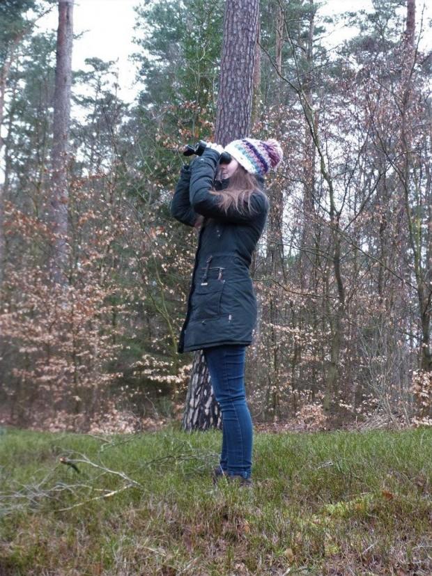 Vogelmonitoring 620x827 Studentinnen forschen im Naturpark