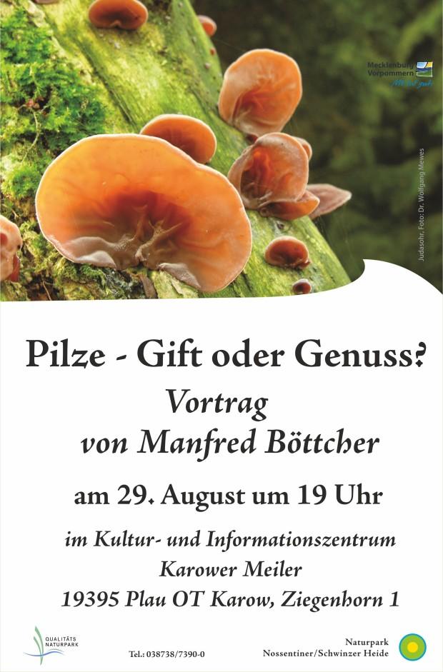 Vortrag Pilze 620x941 Pilze und ihre giftigen Doppelgänger – Vortrag im Naturpark am 29.8.2018