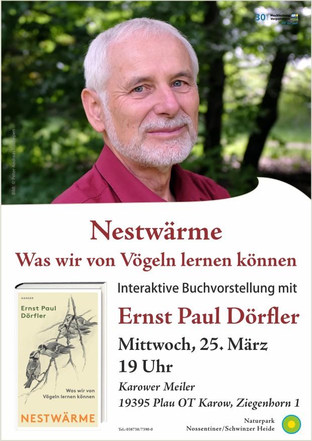 Vortrag Dörfler web 620x876 Achtung   abgesagt: Nestwärme – Was wir von Vögeln lernen können
