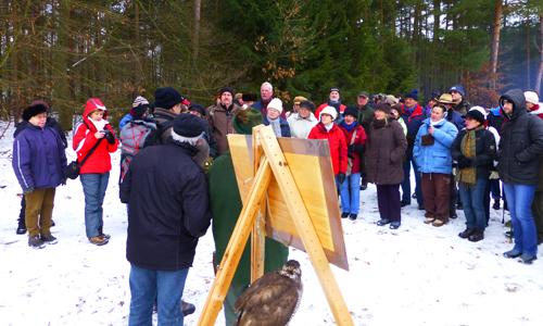Winterwanderung Nossentiner Schwinzer Heide Ralf Koch 2013 Winterwanderung