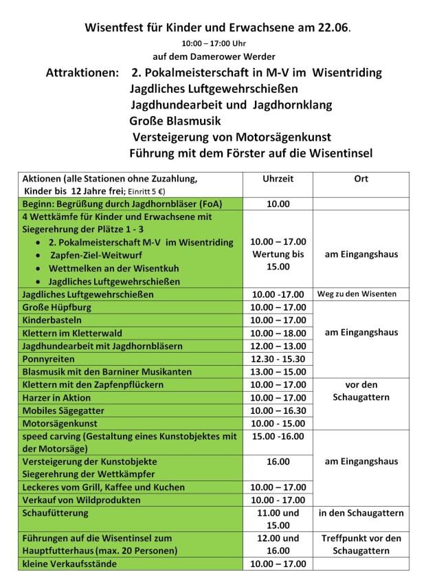 Wisentfest2019 2 620x851 Großes Wisentfest und Sommerfest im Wisentreservat Damerower Werder
