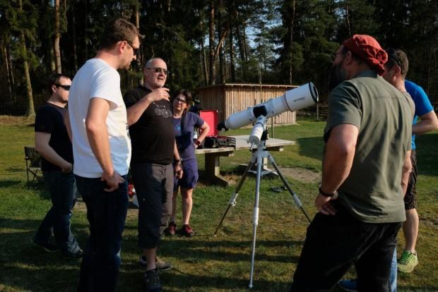 Workshop Astrofotografie 620x414 In Wooster Teerofen ging das Licht aus