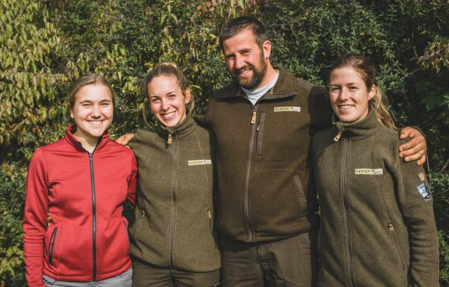 20191022 DSC03063 Drei Ranger für den Naturpark