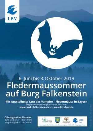 Plakat Fledermaussommer Falkenstein 420x594mm 3mmBeschnitt 2 300x424 Tanz der Vampire – Fledermäuse in Bayern
