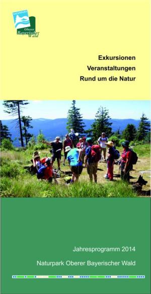 Naturpark Jahresprogramm