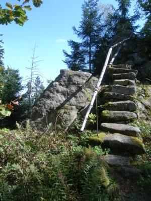 Die steinerne Treppe
