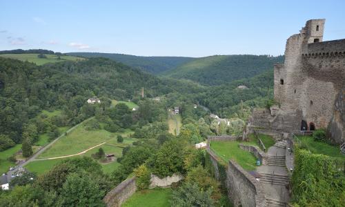 Burg Hohenstein Textbild Hessischer Wandertag 26. Mai 2019: Rund um die Burg Hohenstein