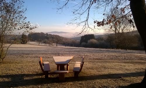 Erfrischende Aussicht Text Werde kein Murmeltier   Naturpark Erlebnis hilft gegen Corona Blues zur Weihnachtszeit