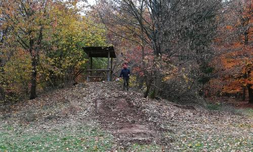 Text Dreispitz Hütte Der Winter ist nun auch bei uns angekommen