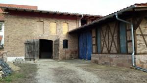 Sanierung der Scheune und Bauerngarten als Museum in Großjena